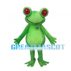 Red Eyes Frog Mascot Costume