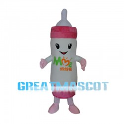 Cartoon White Feeding Bottle Mascot Costume