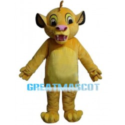 Brave Little Lion Simba Mascot Costume