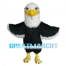 Angry Cartoon Eagle Mascot Costume