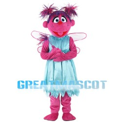Rose Red Sesame Street With Messy Hair Mascot Costume