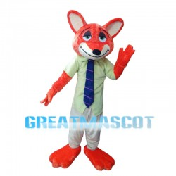 Dishonest Red Fox Mascot Costume