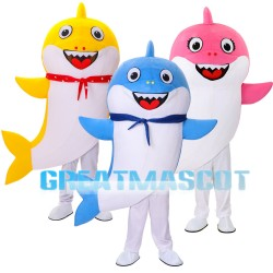 Lovely Baby Shark Mascot Costume