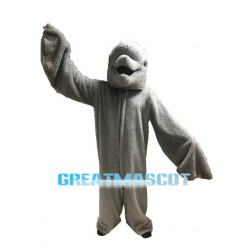 Plush Grey Dolphin Mascot Adult Costume