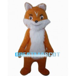 New Custom Made Fox Long Wool Mascot Costume
