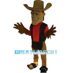 2nd Version Of The Cowboy Mascot Costume