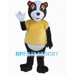 Cartoon Lemur Mascot Costume