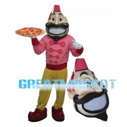 Pizza Waiter Mascot Costume