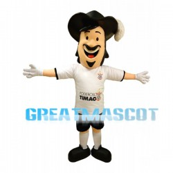 Charles Mos In Poderoso Timão Short Sleeves Mascot Costume