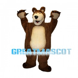 Mishka The Huge Bear Mascot Costume