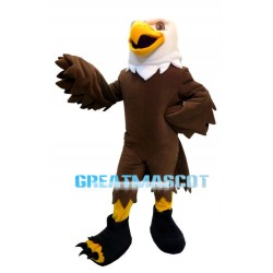 Brown Eagle Mascot Adult Costume
