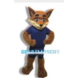 Fox Public School Mascot Adult Costume