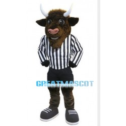 Power Bison Mascot Adult Costume