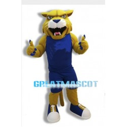 University Power Wildcat Mascot Costume
