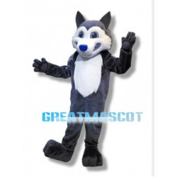Morgan School Husky Mascot Costume