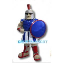 Blue Trojan Warrior Mascot Costume