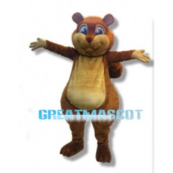Adult Best Beaver Mascot Costume