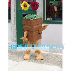 Funny Potted Flowers Mascot Costume For Halloween Party