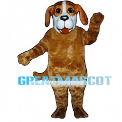Lovely Hound Dog Mascot Costume For Adult