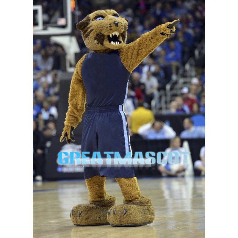 University Fierce Wildcats Mascot Costume