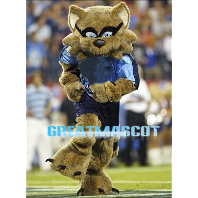 Football Raccoon Mascot Costume