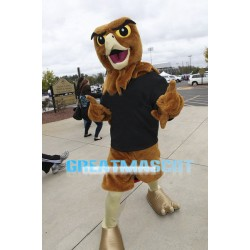 University Brown Falcon Mascot Adult Costume