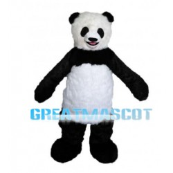New Custom Made Plush Panda Mascot Adult Costume