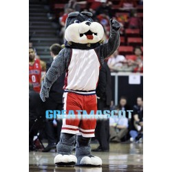 University Basketball Bulldog Mascot Costume