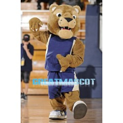 University Golden Panther Mascot Costume