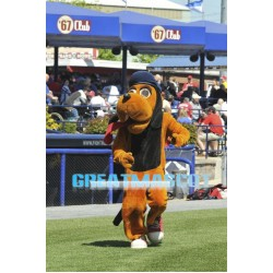 Baseball Hound Dog Mascot Costume