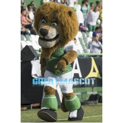Sports Power Lion Mascot Adult Costume