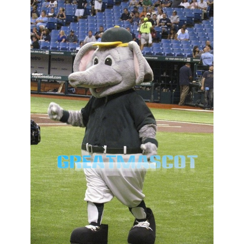 Baseball Elephant Mascot Adult Costume