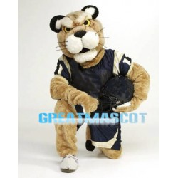 College Football Golden Panther Mascot Costume