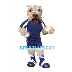 Football Norwich Terrier Dog Mascot Costume