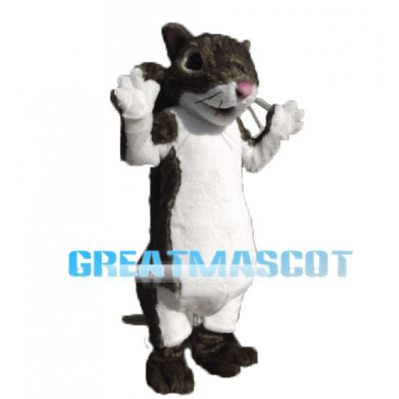 Grey Mouse Animal Mascot Costume