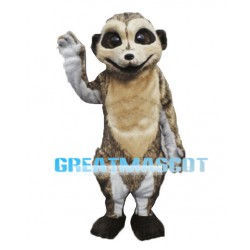 Meerkat Animal Mascot Adult Costume