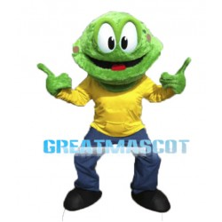 Awesome Cartoon Green Snake Mascot Adult Costume