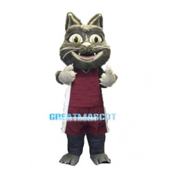 Basketball Black Cat Sports School Mascot Costume