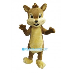 Cute Baby Squirrel Animal Mascot Adult Costume