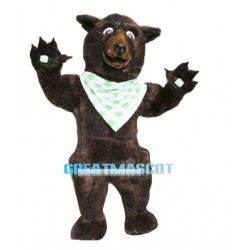 Big Brown Bear Mascot Costume