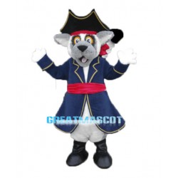Pirate Lemur Mascot Costume
