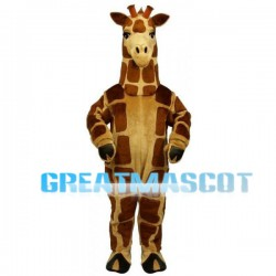 New Custom Made Giraffe Mascot Adult Costume