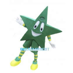 Cartoon Green Star Lightweight Mascot Costume