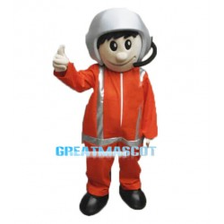 Air Ambulance Pilot Mascot Costume