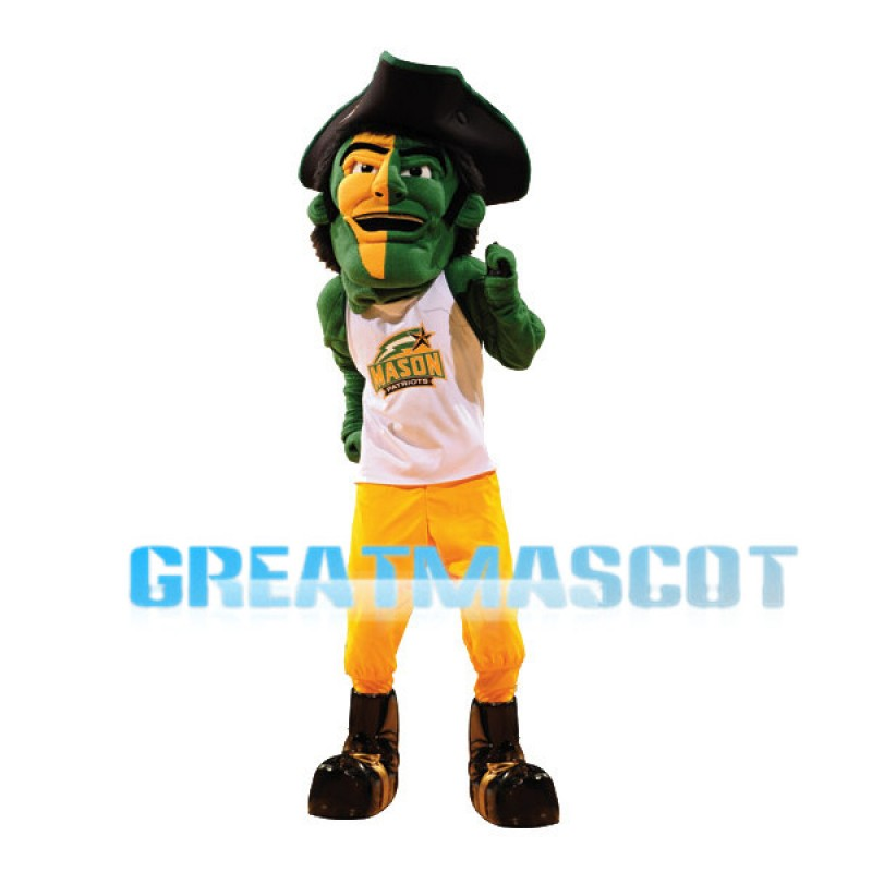 George Mason University Patriot Mascot Costume