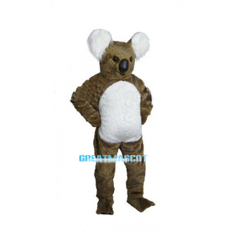 Plush Brown Koala Mascot Costume