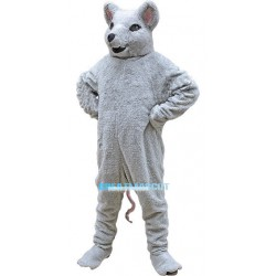 Gray Mouse Animal Mascot Costume