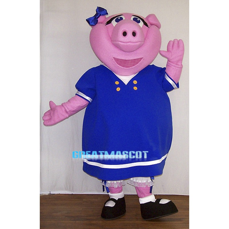 Penny The Pig Mascot Costume