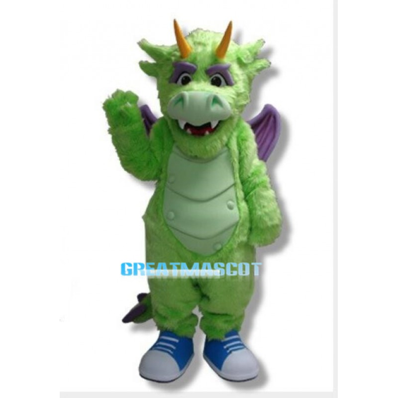 Friendly Starz The Dragon Mascot Costume