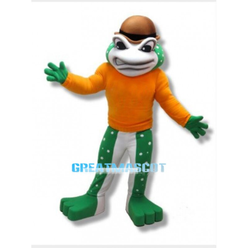 High School Frog Mascot Costume